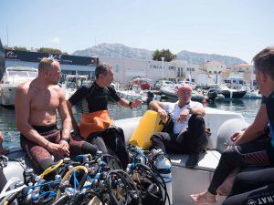 Coaching plongée sous-marine